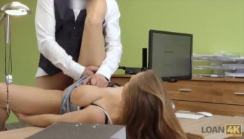 Tiny blode Beth Tinney get her ass drilled to the hell what makes her scream really loud