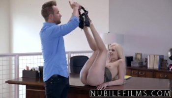 Bounded villein cutie is getting a slit punishment